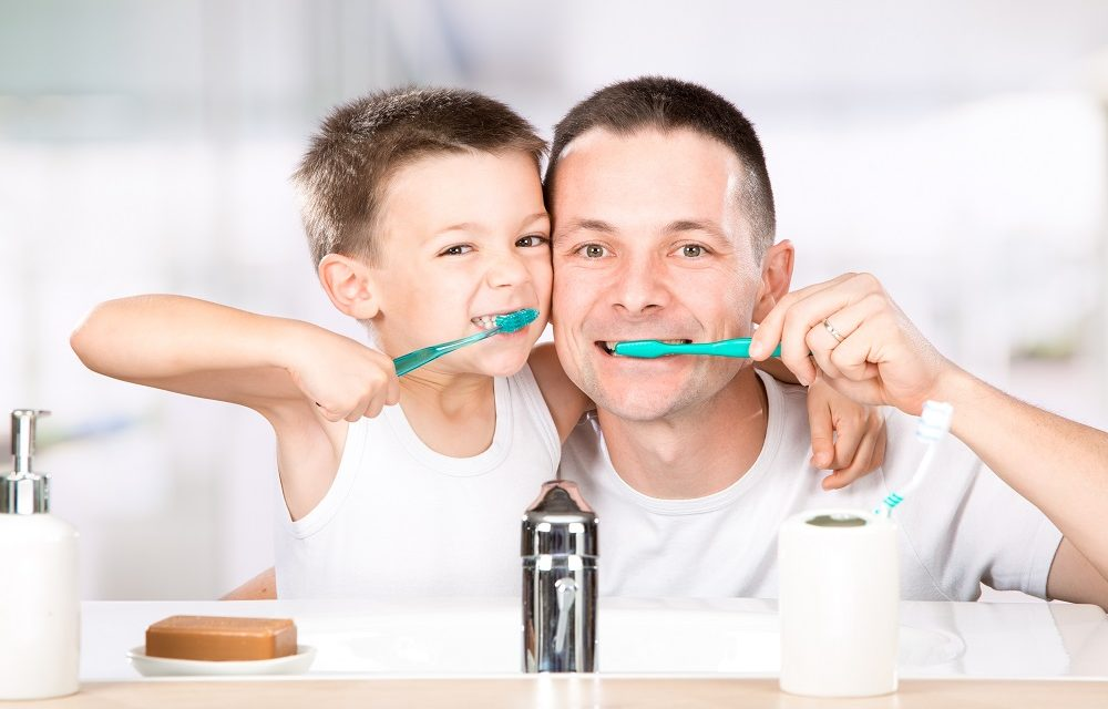top 5 ways to get your kids to take care of their teeth.